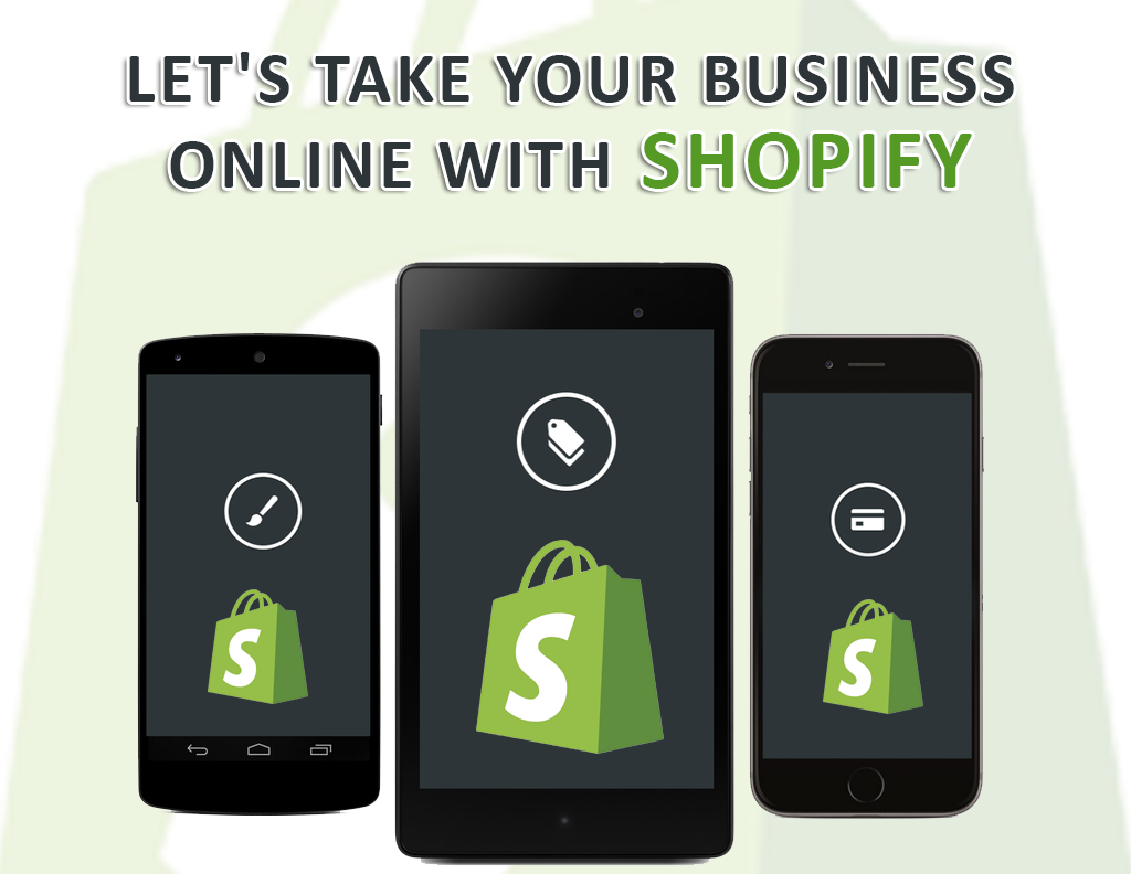 online business with with shopify