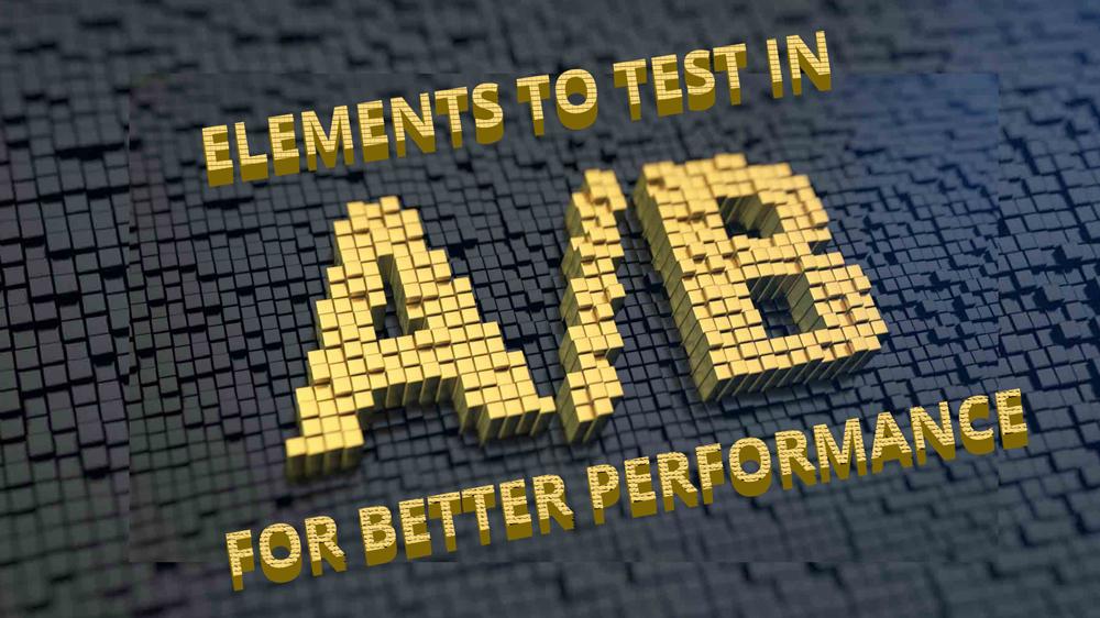 A/B Testing Elements