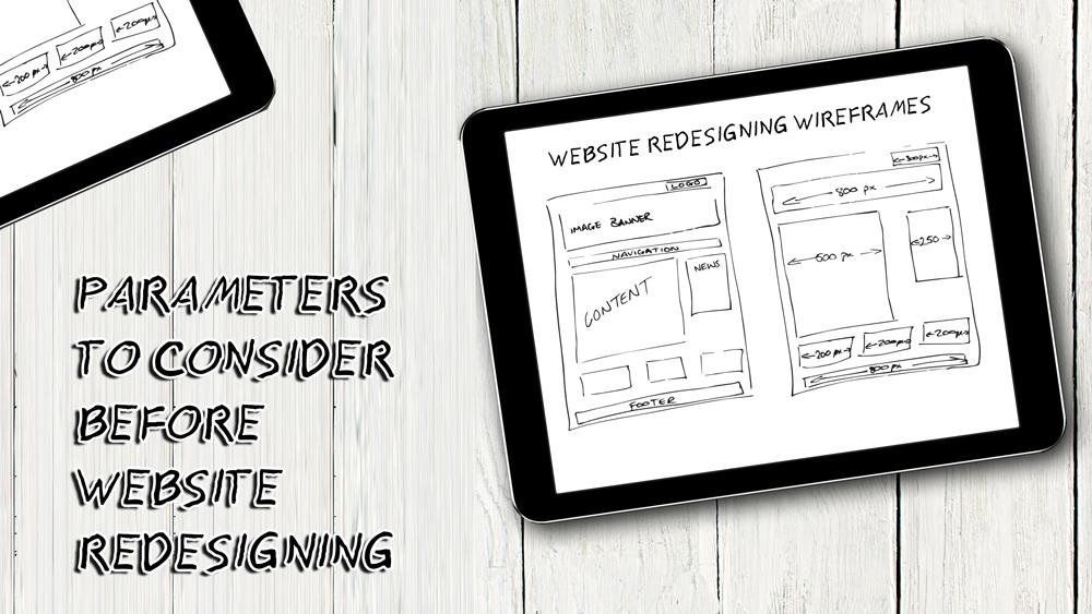 website redesign, website design
