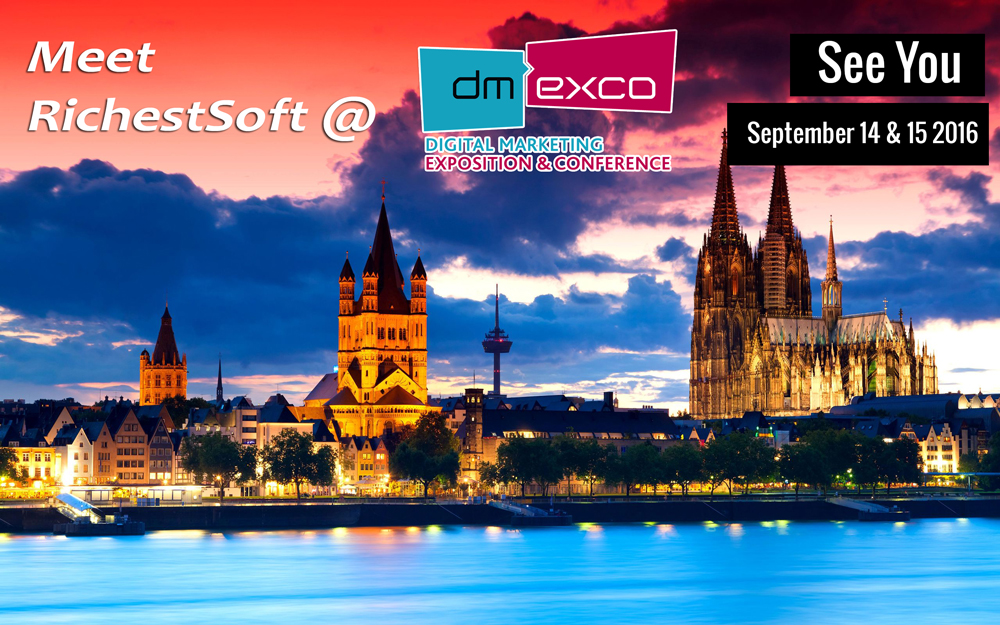 Dmexco Germany 2016, Digital Marketing Exposition and Conference