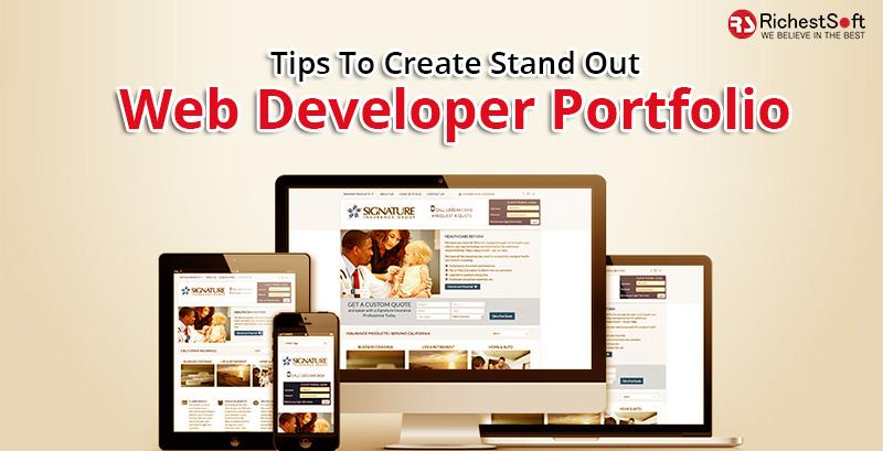 Tips To Create Stand Out Web Developer Portfolio