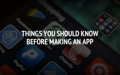 Things You Should Consider Before Building Your App