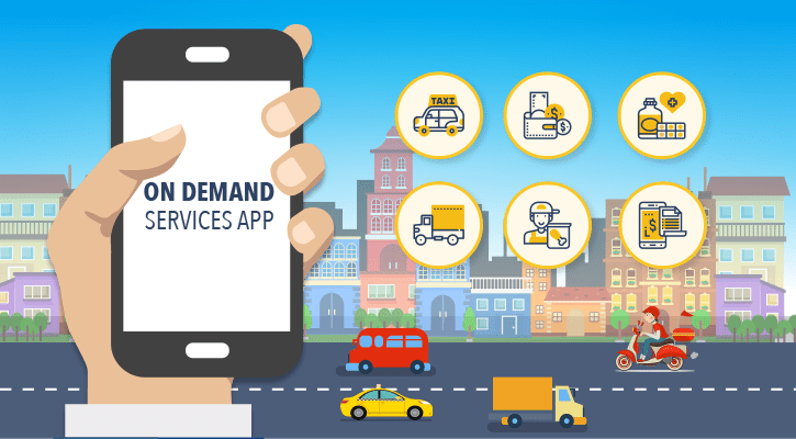 On-demand Mobile Apps Services Shaping Business
